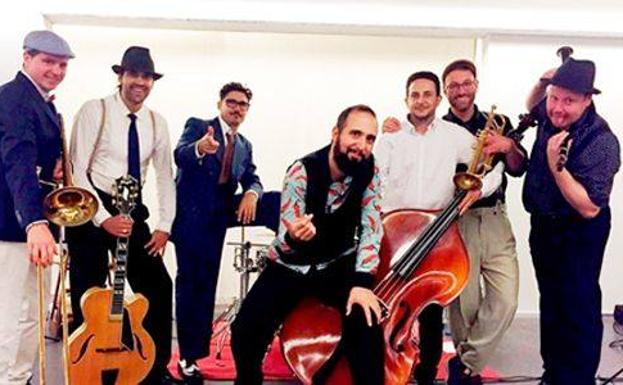 El swing de Zoot Suiters, en San Javier
