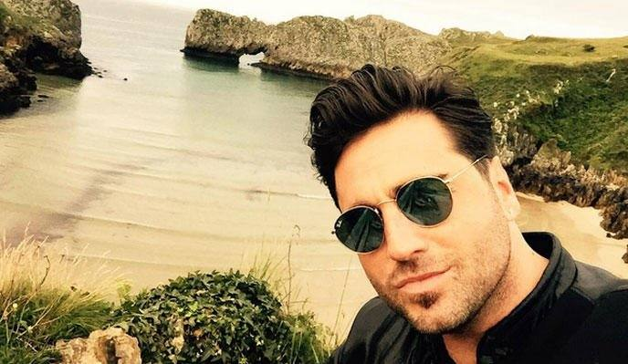David Bustamante./