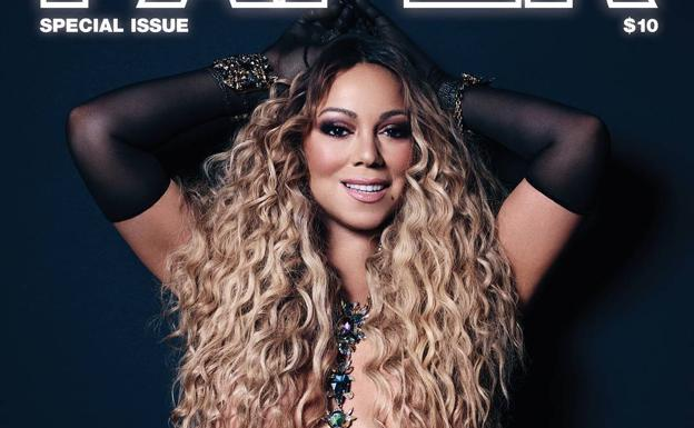Mariah Carey y el Photoshop