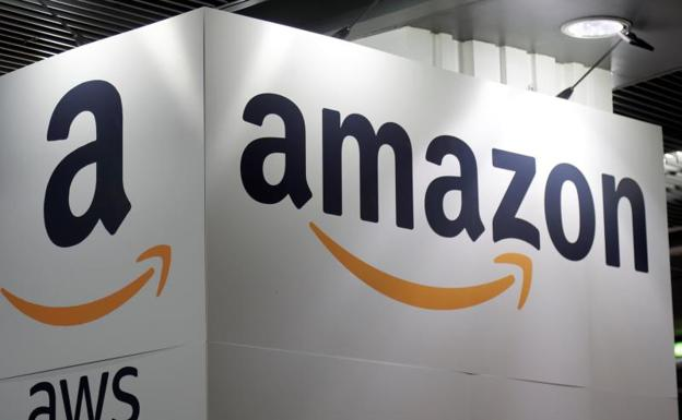 El logo de Amazon./Reuters