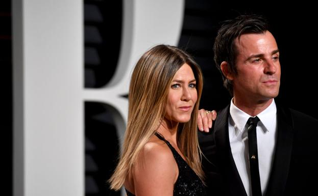 Jennifer Aniston y Justin Theroux,/