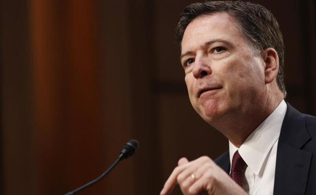 James Comey, exdirector del FBI./Shawn Thew (Efe)