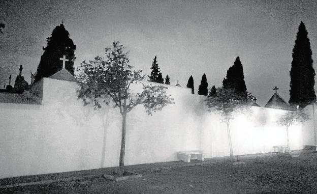 Imagen del cementerio de Cabezo de Torres, una de las pedanías de Murcia./