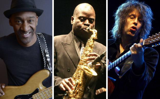 Marcus Miller, Maceo Parker y The Waterboys.