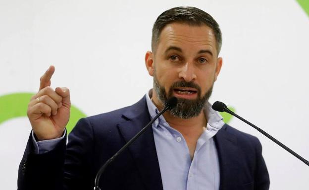 """[VOX] Abascal: """"Frenaremos el referéndum ilegal y defenderemos la unidad de España"""" VF1CYHI1-k9bB-U80679929448mmE-624x385@La%20Verdad"""