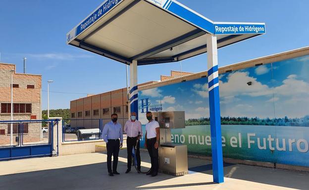 La Verdad: Disfrimur y Terramovil apuestan por el hidrógeno en la Región.