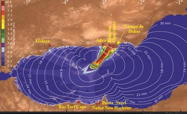 Tsunami en Murcia