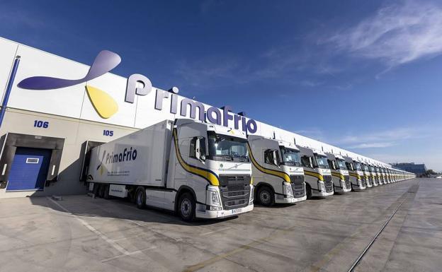 Sede de Primafrio en Alhama de Murcia.