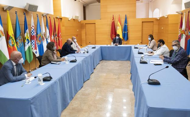 Meeting of the regional Executive and the president of Cermi, this Thursday.
