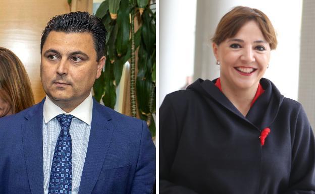 José Miguel Luengo and Marisol Sánchez Jódar.