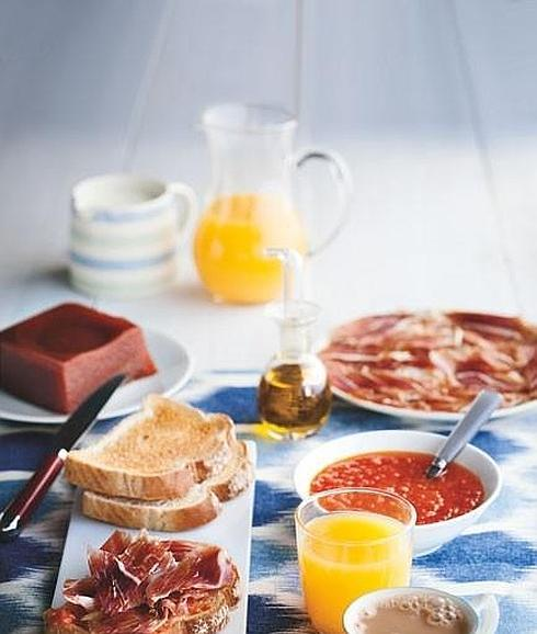 Desayunos de dieta mediterranea