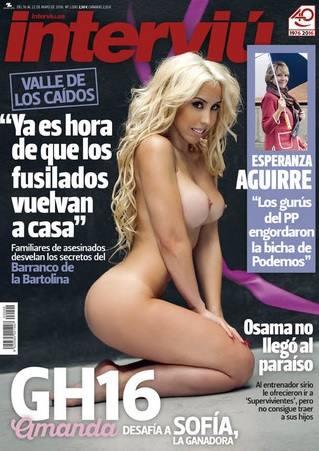 Amanda De Gh16 Desnuda En Interviú La Verdad